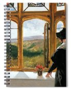 Duchess Of Abercorn Looking Out Of A Window Spiral Notebook