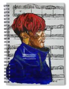 Rapsody In Solitude Spiral Notebook