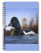 Ring-necked Duck Spiral Notebook