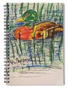 Duck Decoy Spiral Notebook