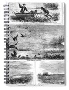 Duck Hunting, 1868 Spiral Notebook