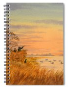 Duck Hunting Calls Spiral Notebook