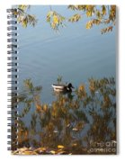 Duck On Golden Pond Spiral Notebook
