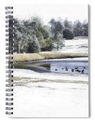 Broadmoor Winter Swim Spiral Notebook