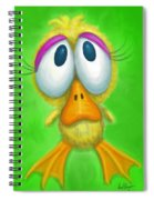 Ducky Spiral Notebook