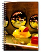Ducky Reflections Spiral Notebook