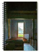Dudley's Chapel Window - Painting Effect Spiral Notebook