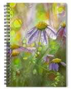 Due Today Z - Dew To Daisy Spiral Notebook