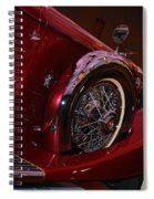 Duesenberg Side View Spiral Notebook