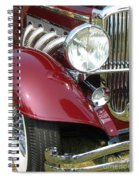 Duesenberg Sj Spiral Notebook