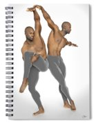 Dueto De Danza Spiral Notebook