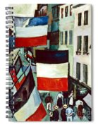 Dufy: Flags, 1906 Spiral Notebook