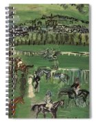 Dufy: Race Track, 1928 Spiral Notebook