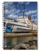 Duke Of Lancaster  Spiral Notebook