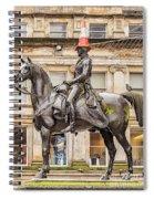Duke Of Wellington Statue Spiral Notebook