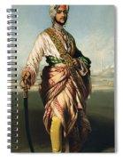 Duleep Singh, Maharajah Of Lahore Spiral Notebook