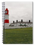 Dull Day At The Seaside. Spiral Notebook
