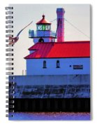 Duluth Lighthouse Spiral Notebook