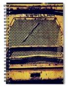 Dump Truck Grille Spiral Notebook