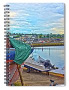 Dun Laoghaire 14 Spiral Notebook