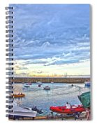 Dun Laoghaire 24 Spiral Notebook
