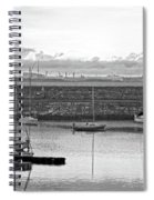 Dun Laoghaire 4 Spiral Notebook