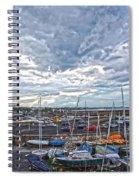 Dun Laoghaire 9 Spiral Notebook