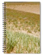 Dune Grass Spiral Notebook