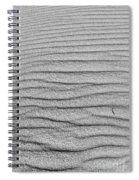Dune Textures In Monochrome Spiral Notebook