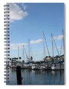 Dunedin Marina I Spiral Notebook