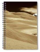 Dunes And Peak Spiral Notebook
