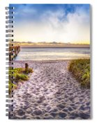 Dunes At The Pier Spiral Notebook