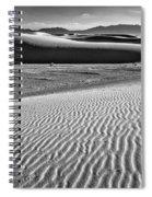 Dunes Details Spiral Notebook