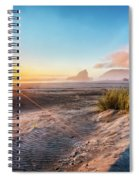 Dunes On The Pacific Coastline Spiral Notebook