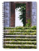 Dungeness Front Steps  Spiral Notebook