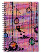 Dunking Ornaments Spiral Notebook
