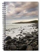Dunstanburgh Castle Sunset Spiral Notebook