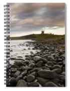 Dunstanburgh Castle Uk Spiral Notebook