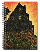 Duntrune Castle Argyll Scotland Spiral Notebook