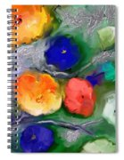 Duo De Fleurs 2 Spiral Notebook