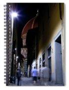 Duomo In The Dark Spiral Notebook