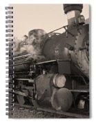 Durango Silverton 480 Sepia Spiral Notebook
