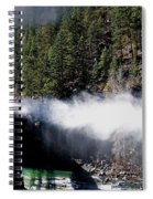 Durango Silverton Blowing Off Steam Spiral Notebook