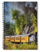 Durango-silverton Narrow Gauge Railroad Spiral Notebook