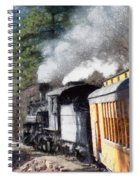 Durango Silverton Painterly 2 Spiral Notebook