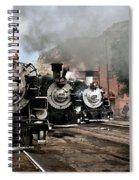 Durango - Silverton Railroad Spiral Notebook