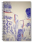 Durant And Westbrook Spiral Notebook