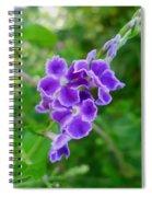 Duranta Flower 2 Spiral Notebook