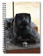 Durga's Lion, Valparai Spiral Notebook