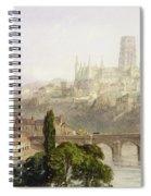 Durham Cathedral Spiral Notebook